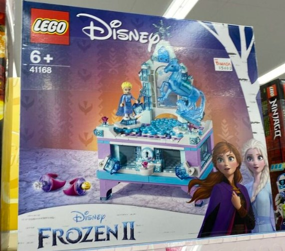 女の子のレゴで好きなのはプリンセス