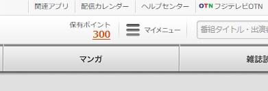 ポイントが300